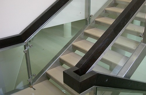 Interior<br>metal stairs