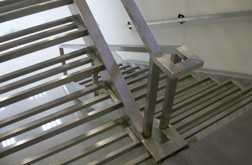 Stairs<br>stainless steel design